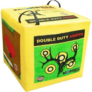 Morrell Double Duty 450FPS Field Point Bag Archery Target - for Crossbows, Compounds, Traditional Bows