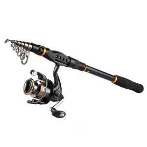 Goture telescopic Fishing Rod and Reel Combos