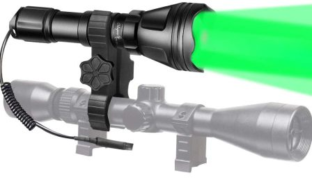 Odepro KL52 Plus Zoomable Hunting Flashlight