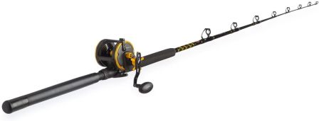 PENN Squall Level Wind Reel & Rod Fishing Combo