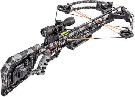 TenPoint Wicked Ridge Rampage 360 Crossbow Package with Multi-Line Scope